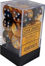 CHX 26651 16MM D6 GEMINI BLACK-GOLD/SILVER