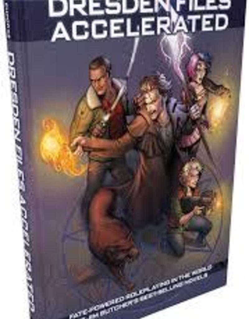 EVIL HAT PRODUCTIONS DRESDEN FILES RPG FATECORE SYSTEM