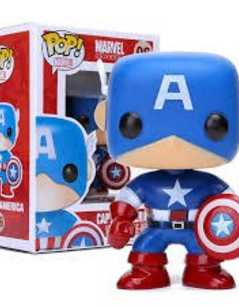 FUNKO POP MARVEL CAPTAIN AMERICA VINYL FIG