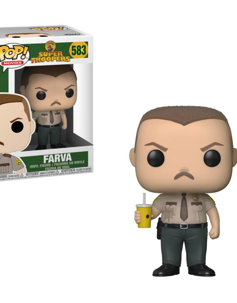 FUNKO POP SUPER TROOPERS FARVA VINYL FIGURE