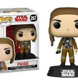 FUNKO POP STAR WARS THE LAST JEDI PAIGE VINYL FIG