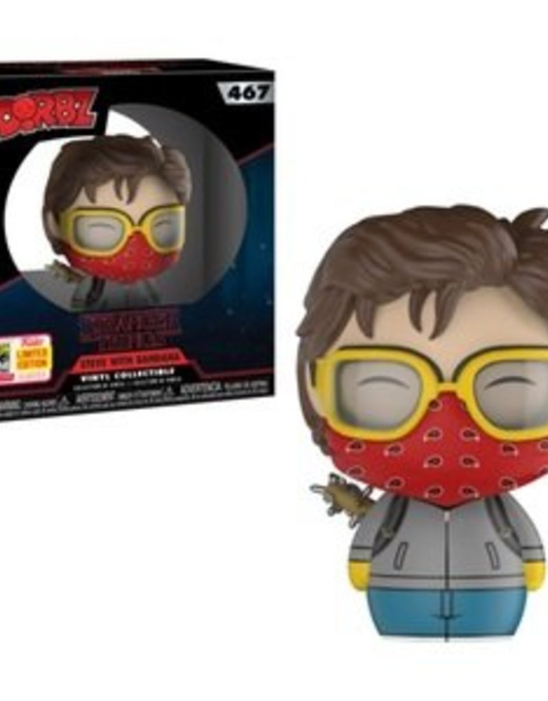 FUNKO STRANGER THINGS- STEVE WITH BANDANA L.E. DORBZ 2018 SDCC EXCLUSIVE