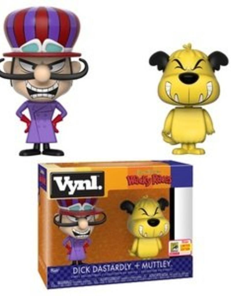 FUNKO VYNL WACKY RACES DICK DASTARDLY & MUTTLEY SDCC 2018