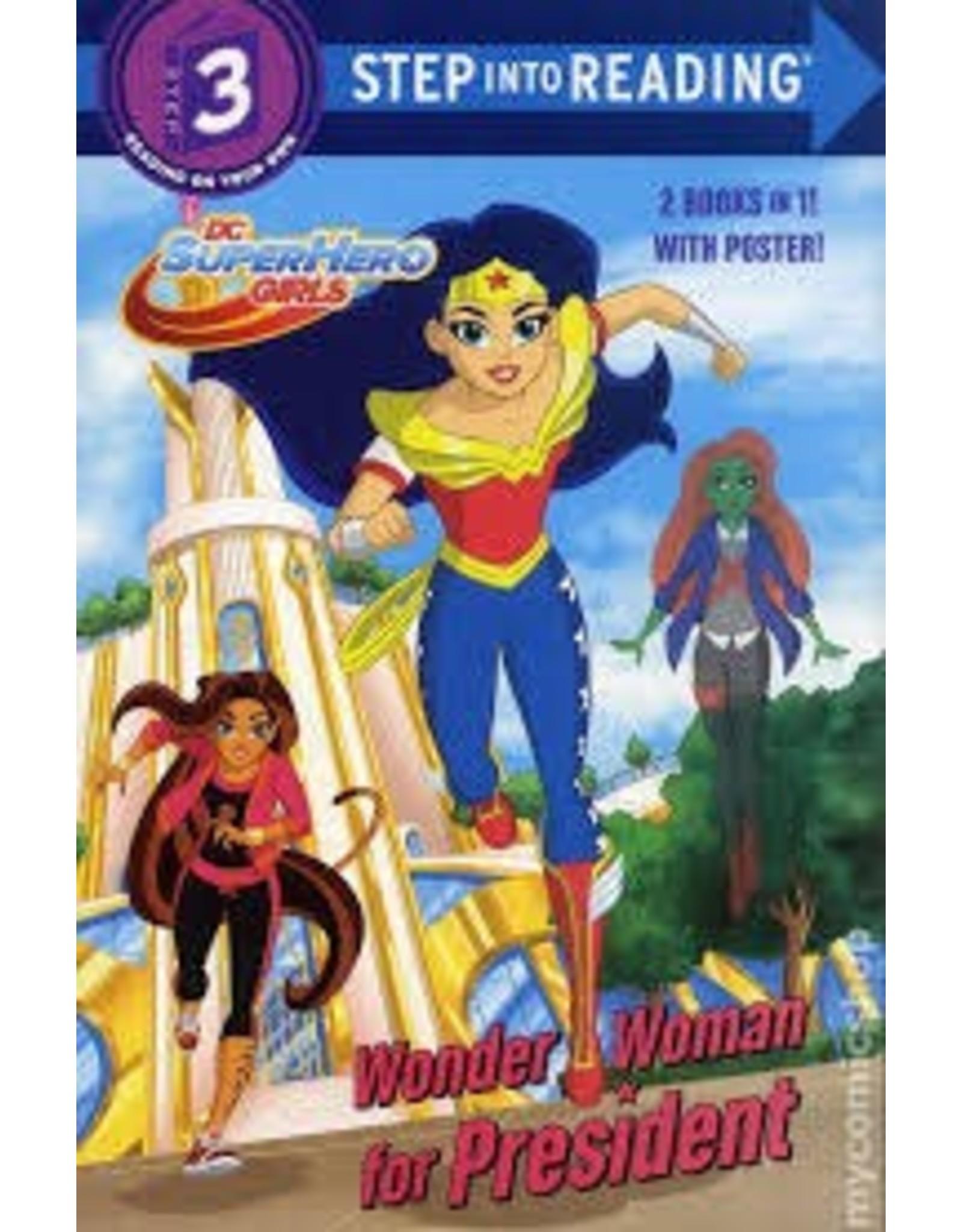 DC SUPER HERO GIRLS WONDER WOMAN FOR PRESIDENT