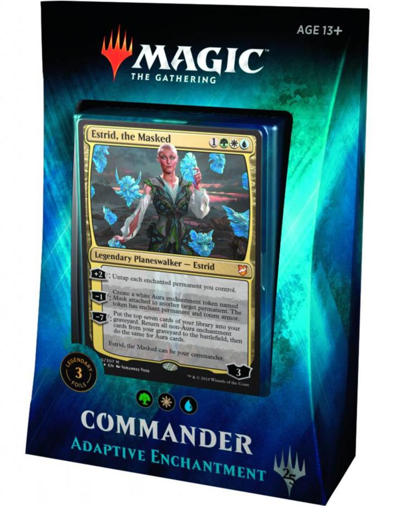 WIZARDS OF THE COAST MTG TCG COMMANDER 2018 ADAPTIVE ENCHANTMENT