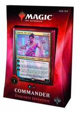 WIZARDS OF THE COAST MTG TCG COMMANDER 2018 DECK EXQUISITE INVENTION