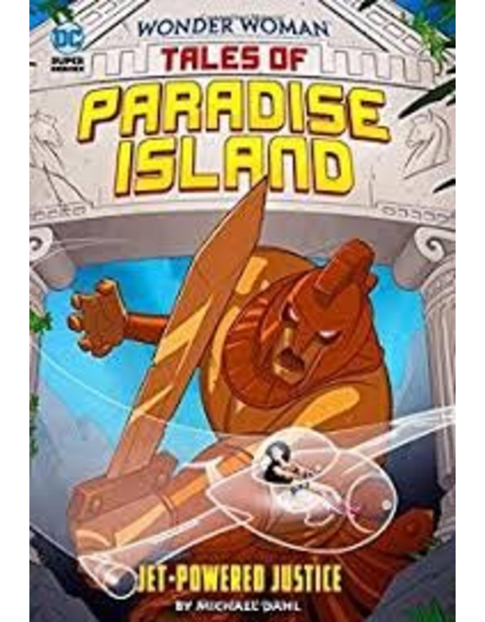 CAPSTONE PRESS WW PARADISE ISLAND YR TP JET POWERED JUSTICE