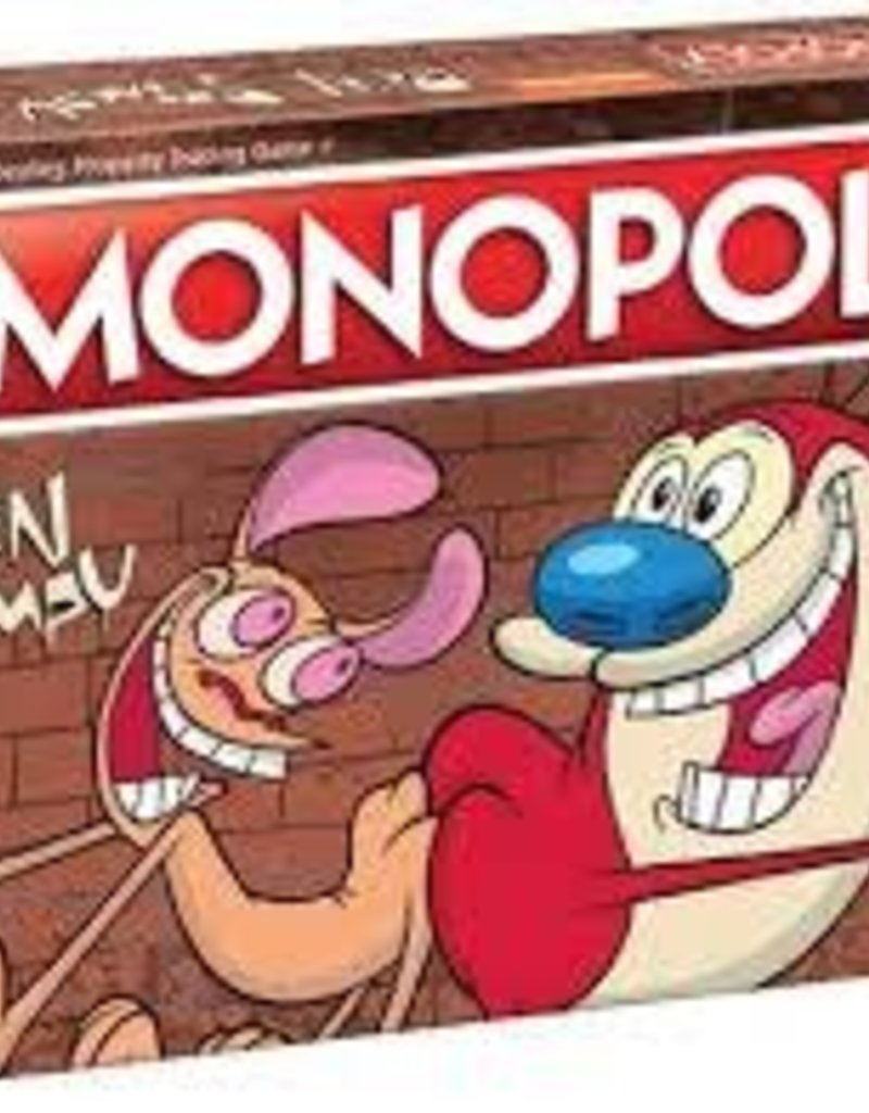USAOPOLY MONOPOLY REN AND STIMPY EDITION