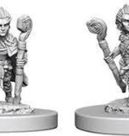 WIZKIDS DEEP CUTS UNPAINTED MINIS GNOME MALE DRUID
