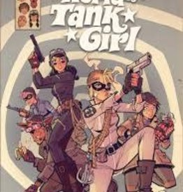 TITAN COMICS WONDERFUL WORLD OF TANK GIRL HC