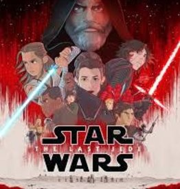 IDW PUBLISHING STAR WARS THE LAST JEDI GN ADAPTATION TP