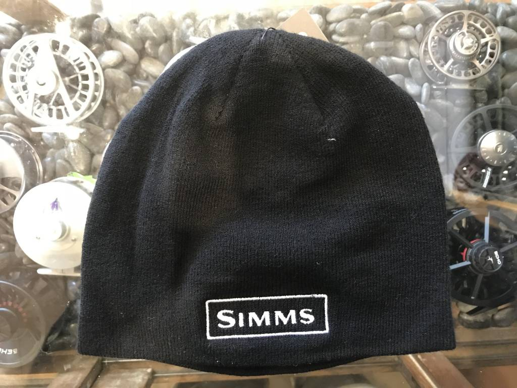 428b01f0535 Simms Patricks Merino Beanie - Black - Patrick s Fly Shop