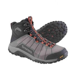 Simms Flyweight Wading Boot - Rubber Sole -