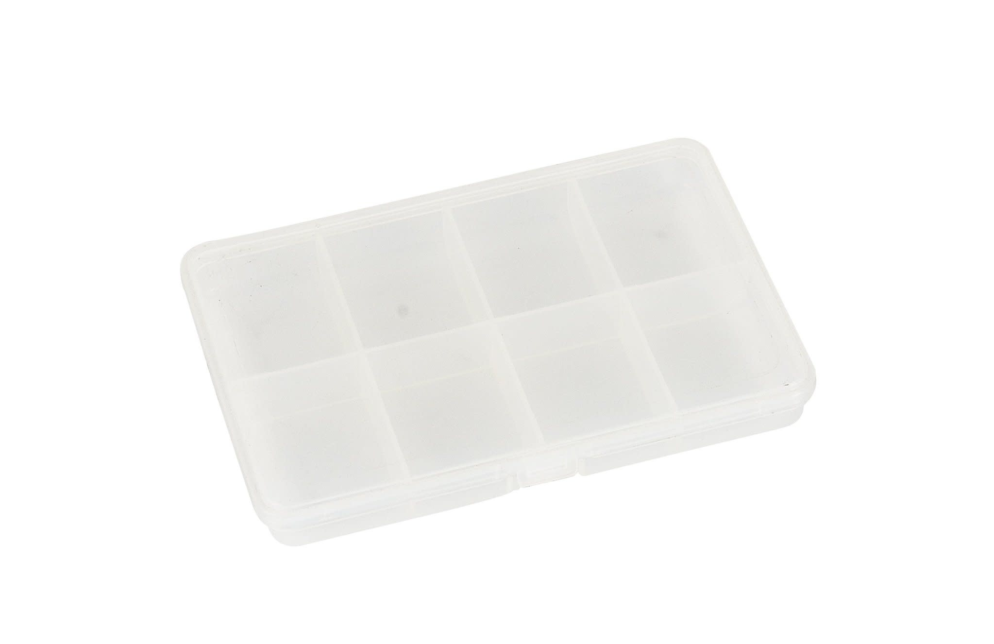 FISH-FIELD Clear 8-Compartment Fly Box