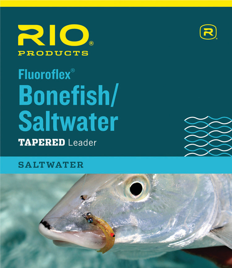 RIO Fluoroflex Bonefish/Saltwater 9' leader -