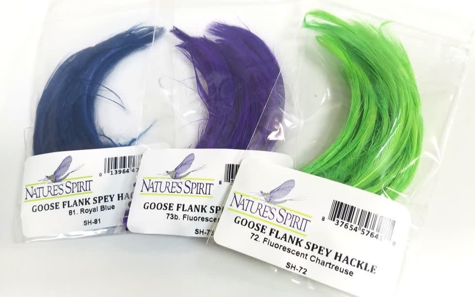 Nature's Spirit Goose Flank Spey Hackle -