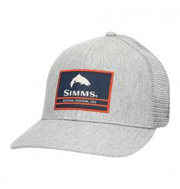 Simms Original Patch Trucker - Heather Grey