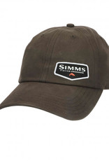 Simms Oil Cloth Cap - Coffee