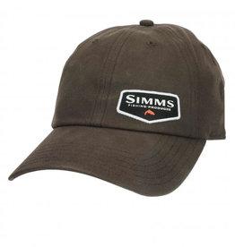 Simms Oil Cloth Cap - Coffee