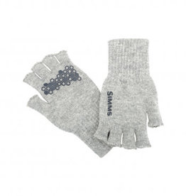 Simms Wool Half Finger Glove -
