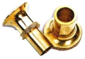 Alpha Sports Gear Hair Stacker, Large Brass