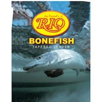RIO Bonefish Leader, 3 pack