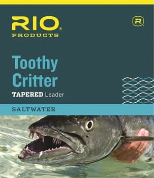 RIO Toothy Critter Leader 7.5ft. 20lb. Tippet, 20lb. Wire w/Clip