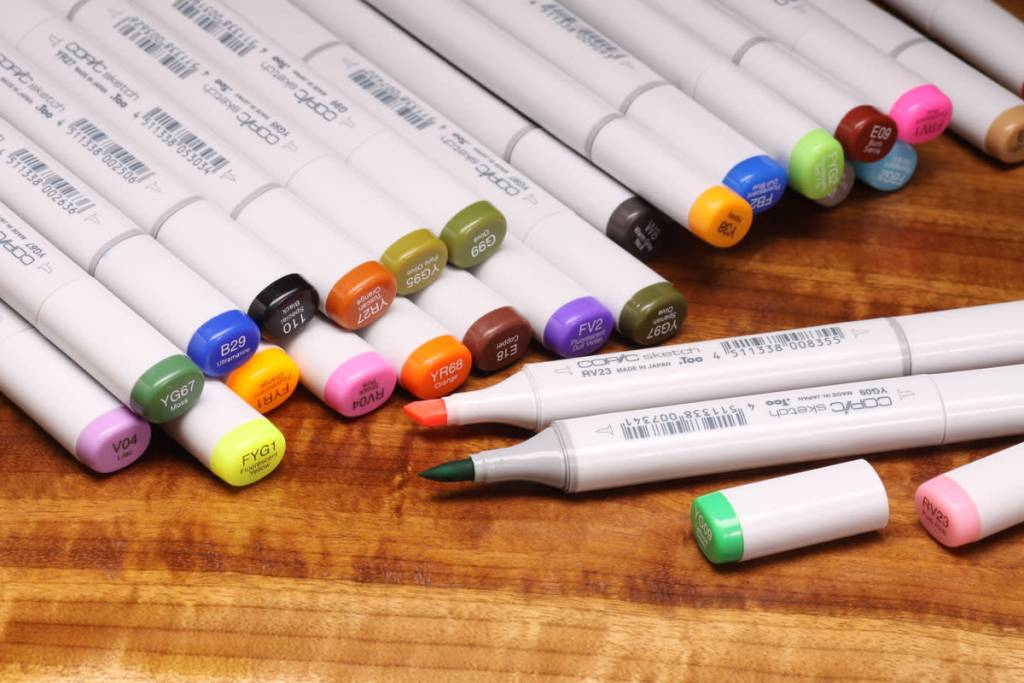 Copic Marker -