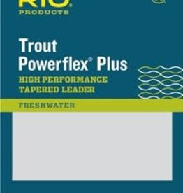 RIO Powerflex Plus Trout Leaders, (3 Pack) -