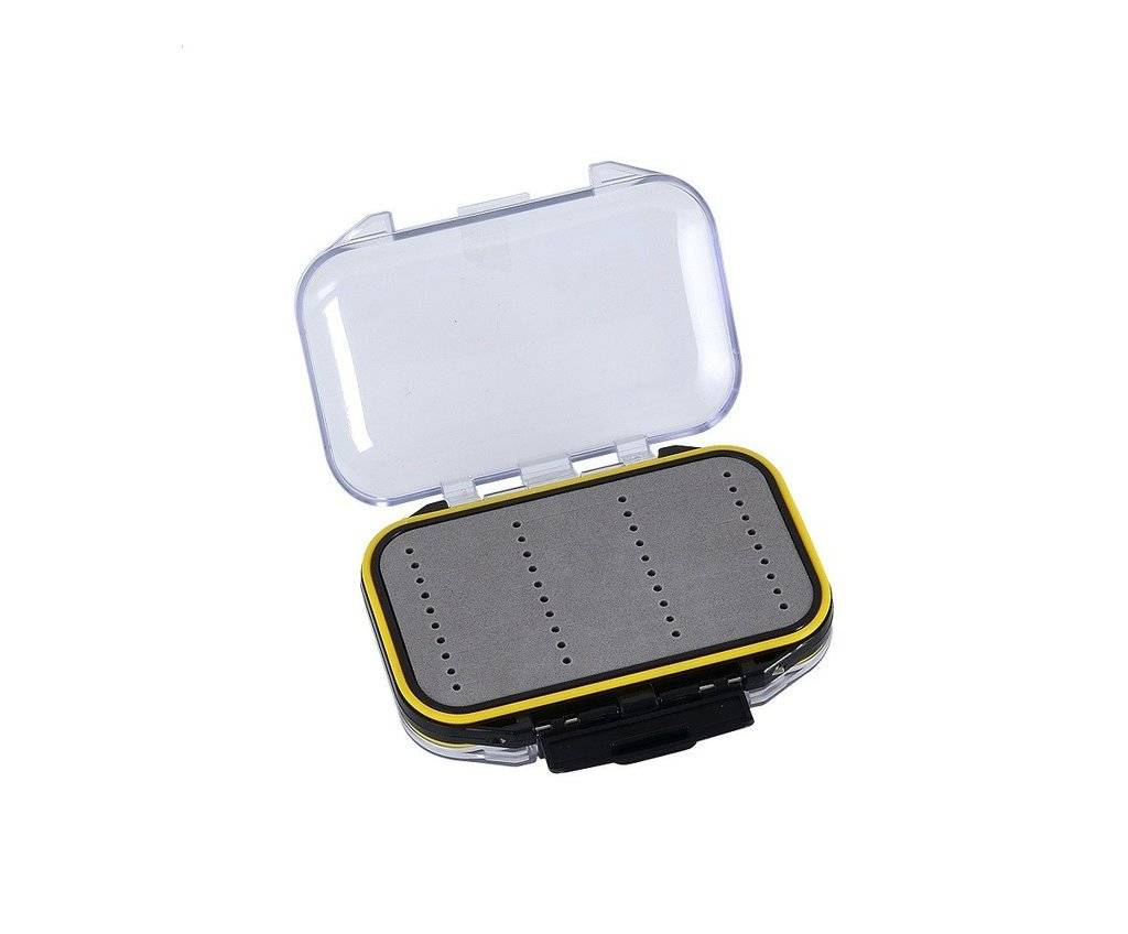 FISH-FIELD Waterproof, 2- Sided, Clear lid, Fly Boxes -