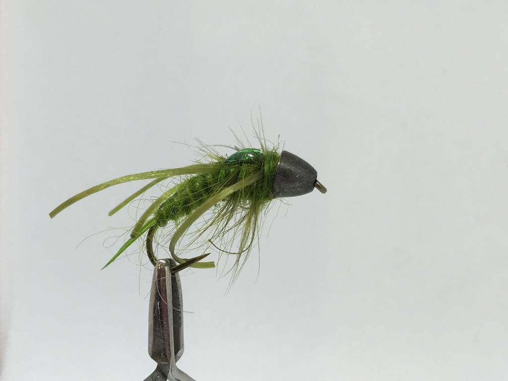 Cone Head, Holographic Back Stonefly Nymph