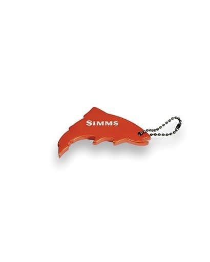 Simms Thirsty Trout Keychain -