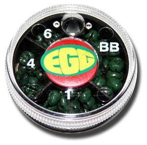 Angler Sports Group Egg Shot Dispenser, 4 Shot - Green
