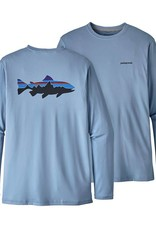 Patagonia Men's Graphic Tech Fish Tee