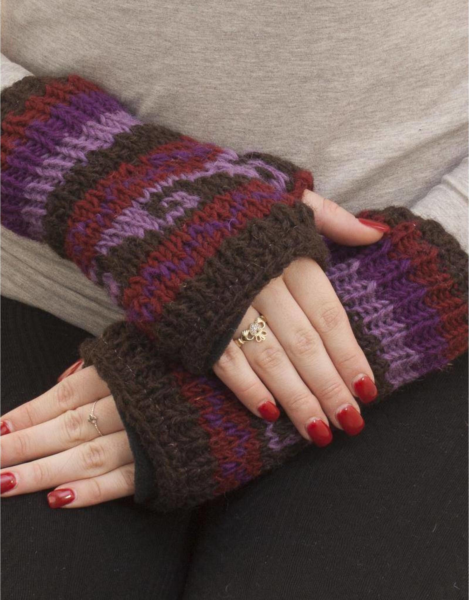 The Sweater Venture Snowfox Fleece Lined Wristlets