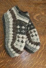 The Sweater Venture Snowfox Fleece Lined Booties
