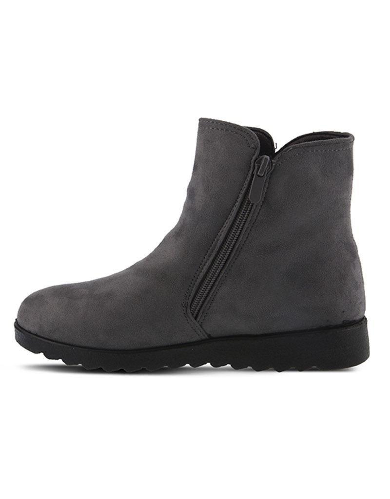 Spring Footwear Faux Suede Bootie