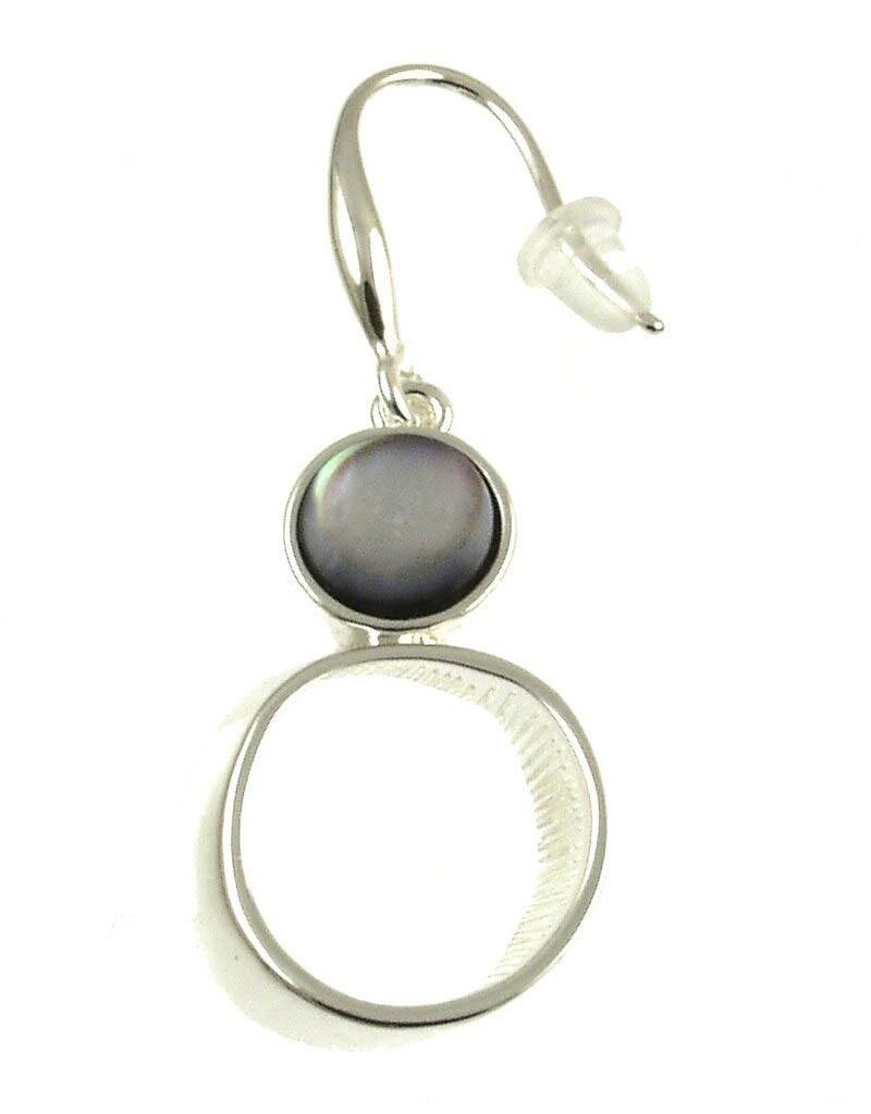 ORIGIN Black Shell Earrings