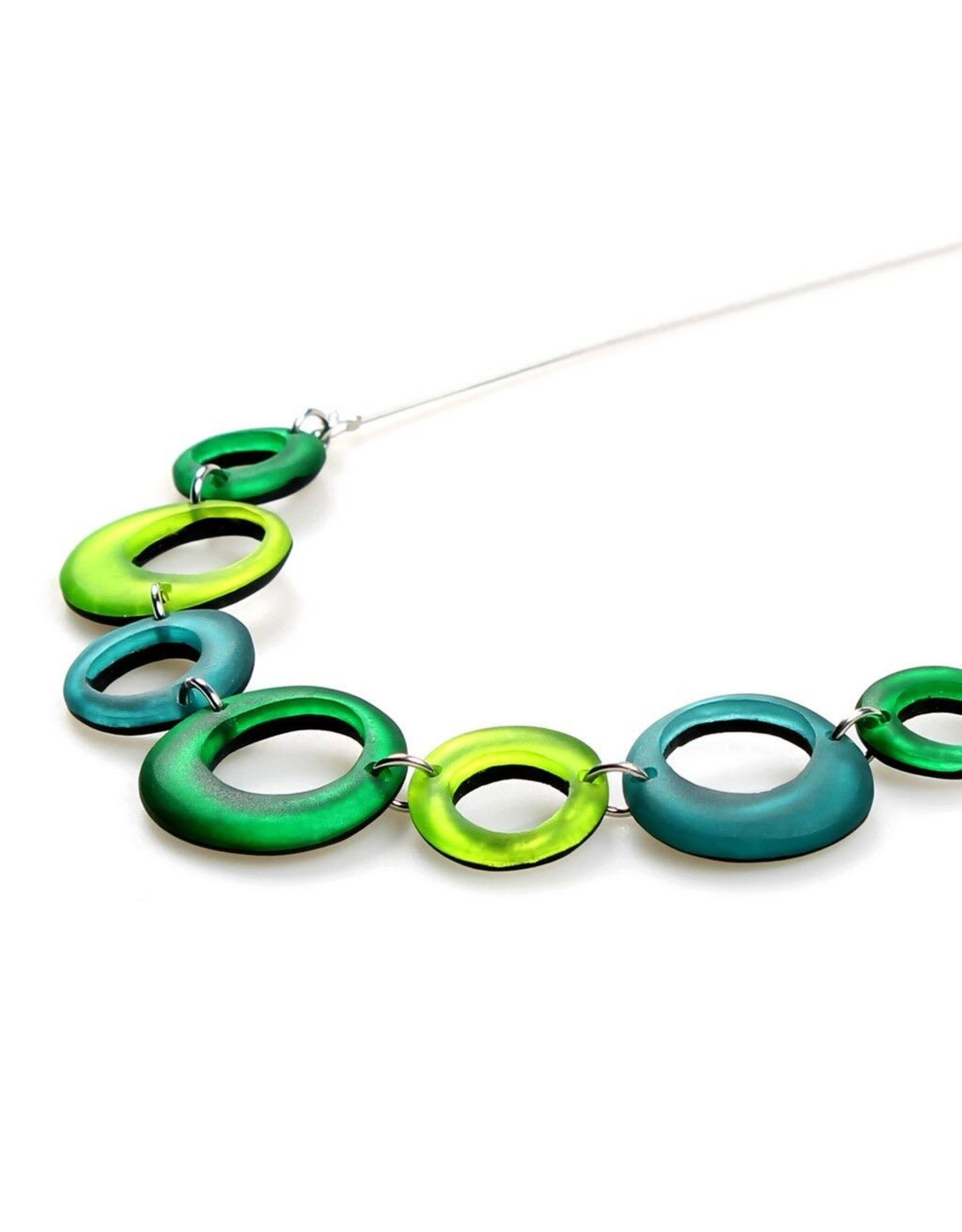 ORIGIN Hollow Circles Necklace