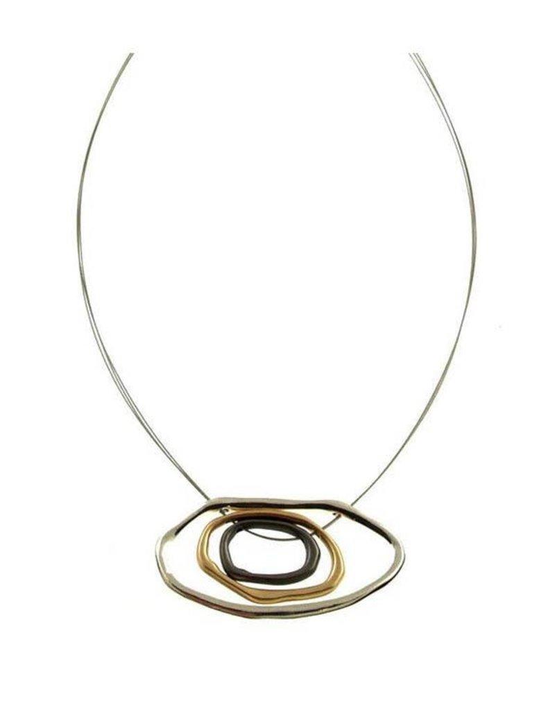 ORIGIN Abstract cIrcles Necklace