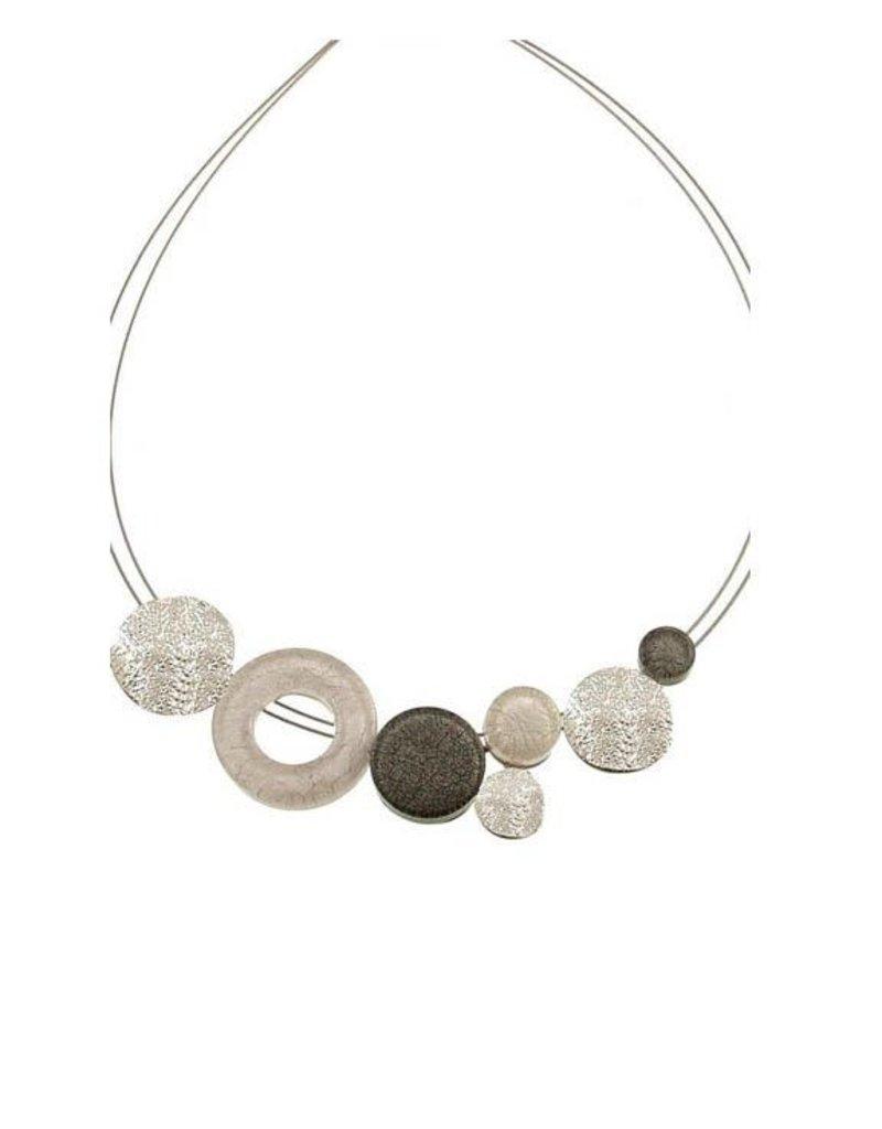 ORIGIN Resin Circles Necklace