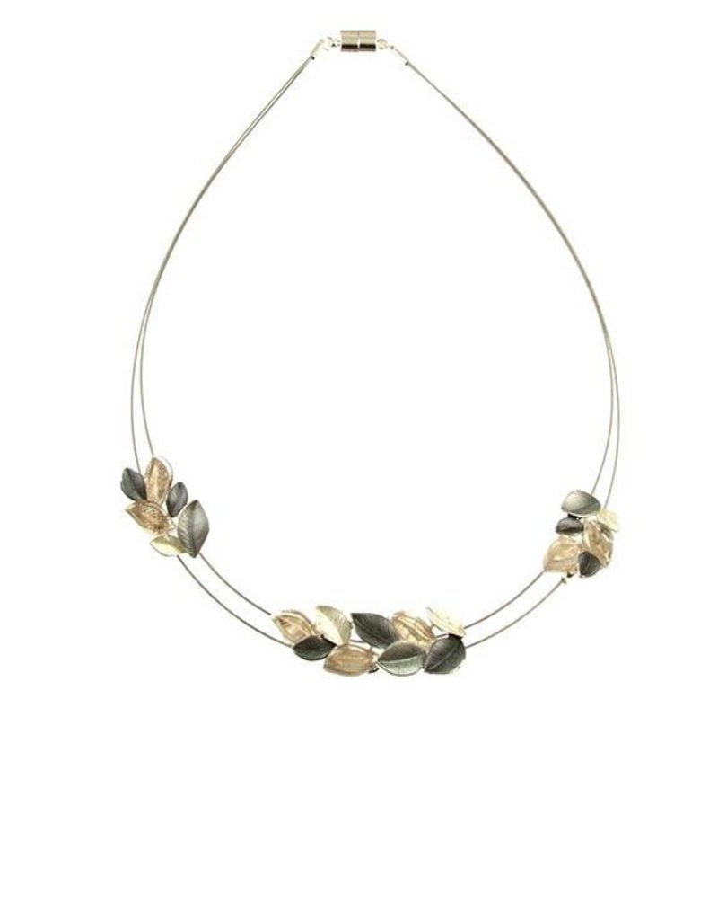 ORIGIN Matte Leaf Necklace