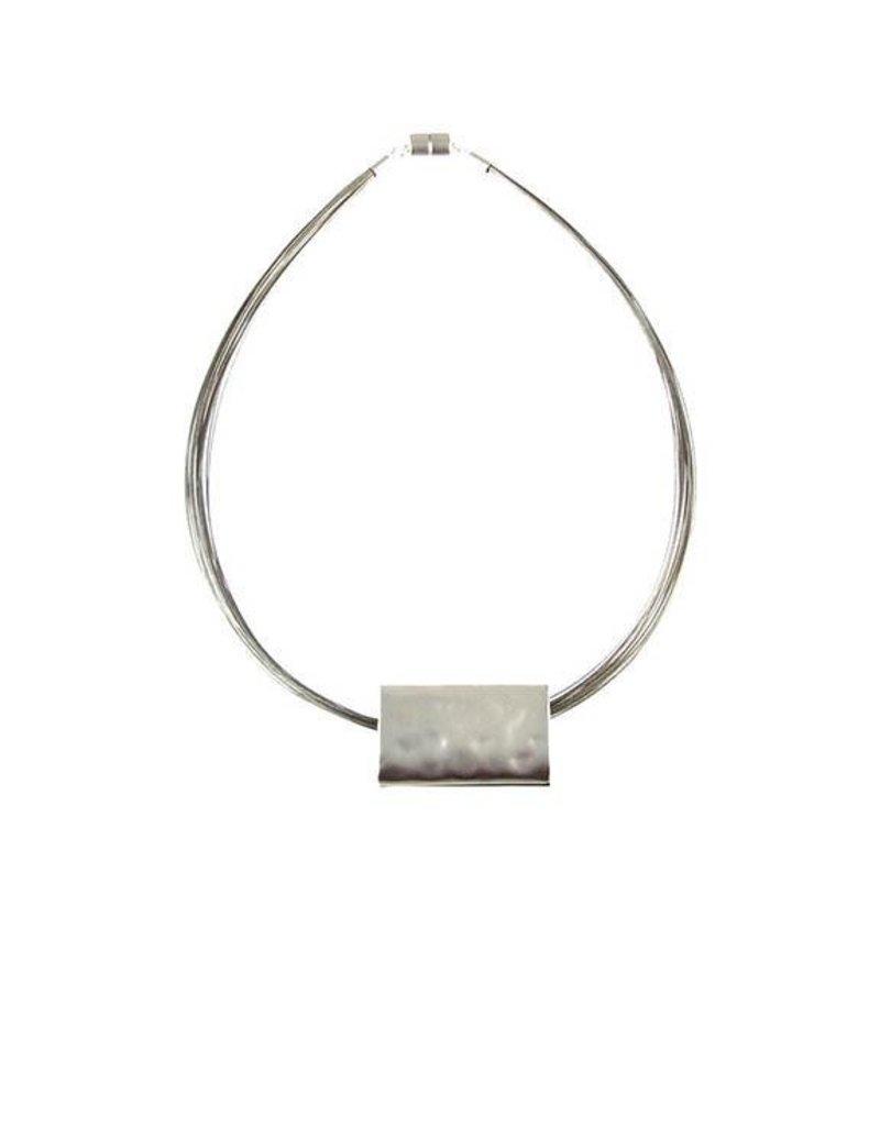 ORIGIN Matte Rectangle Necklace