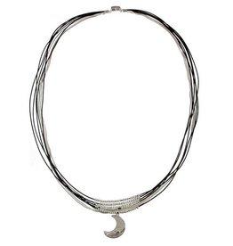 ORIGIN Crecent Moon Charm Necklace