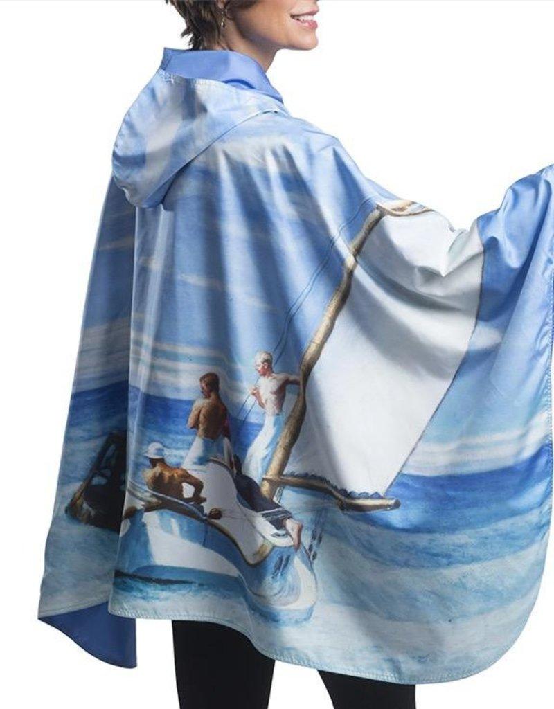 RainCaper Reversible Fine Art Rain Cape