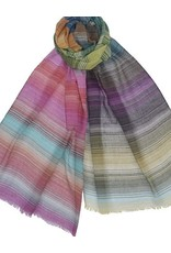 Dupatta Cotton Guaze w/Thin Stripes