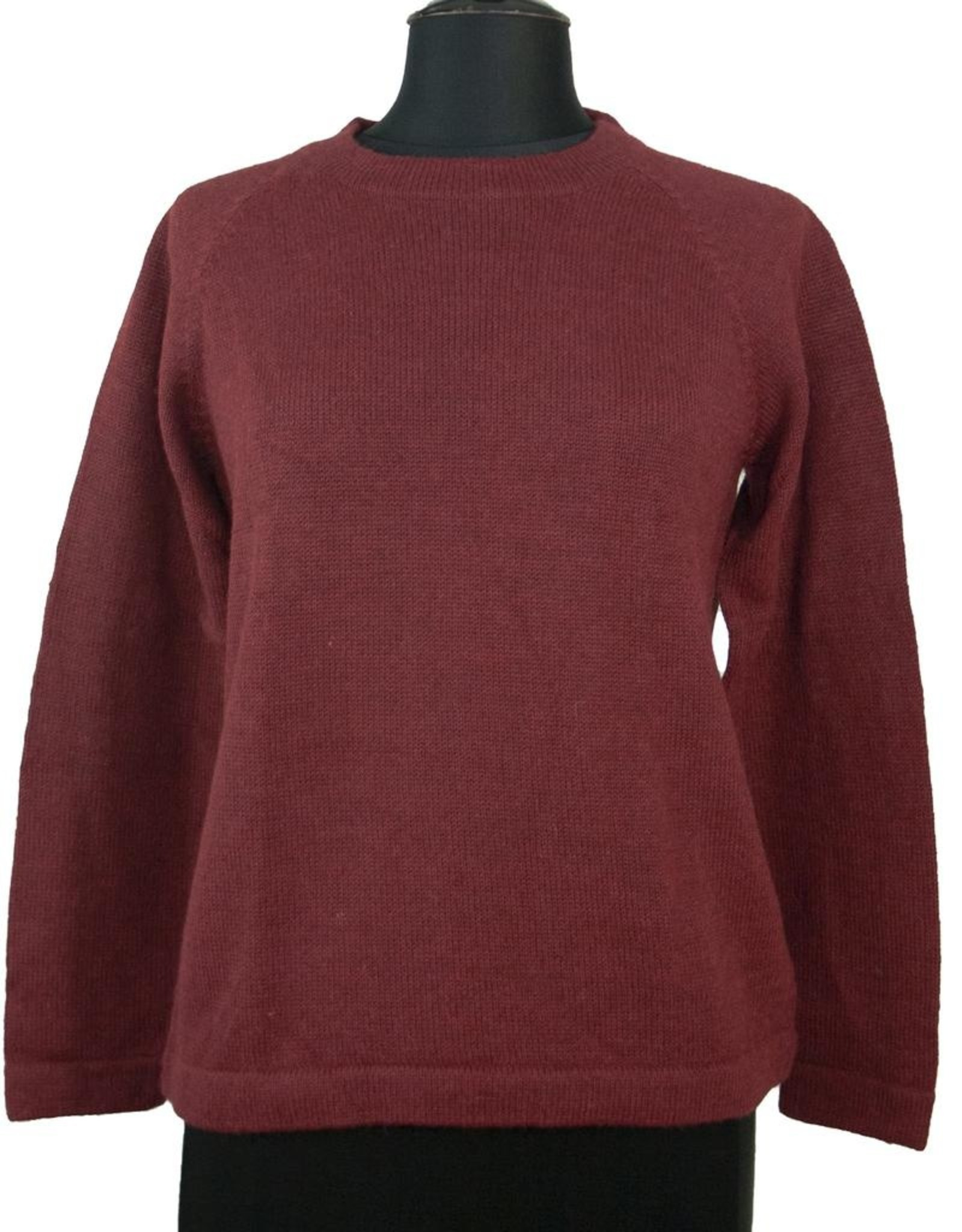 The Sweater Venture Alpaca Crew Neck Pullover