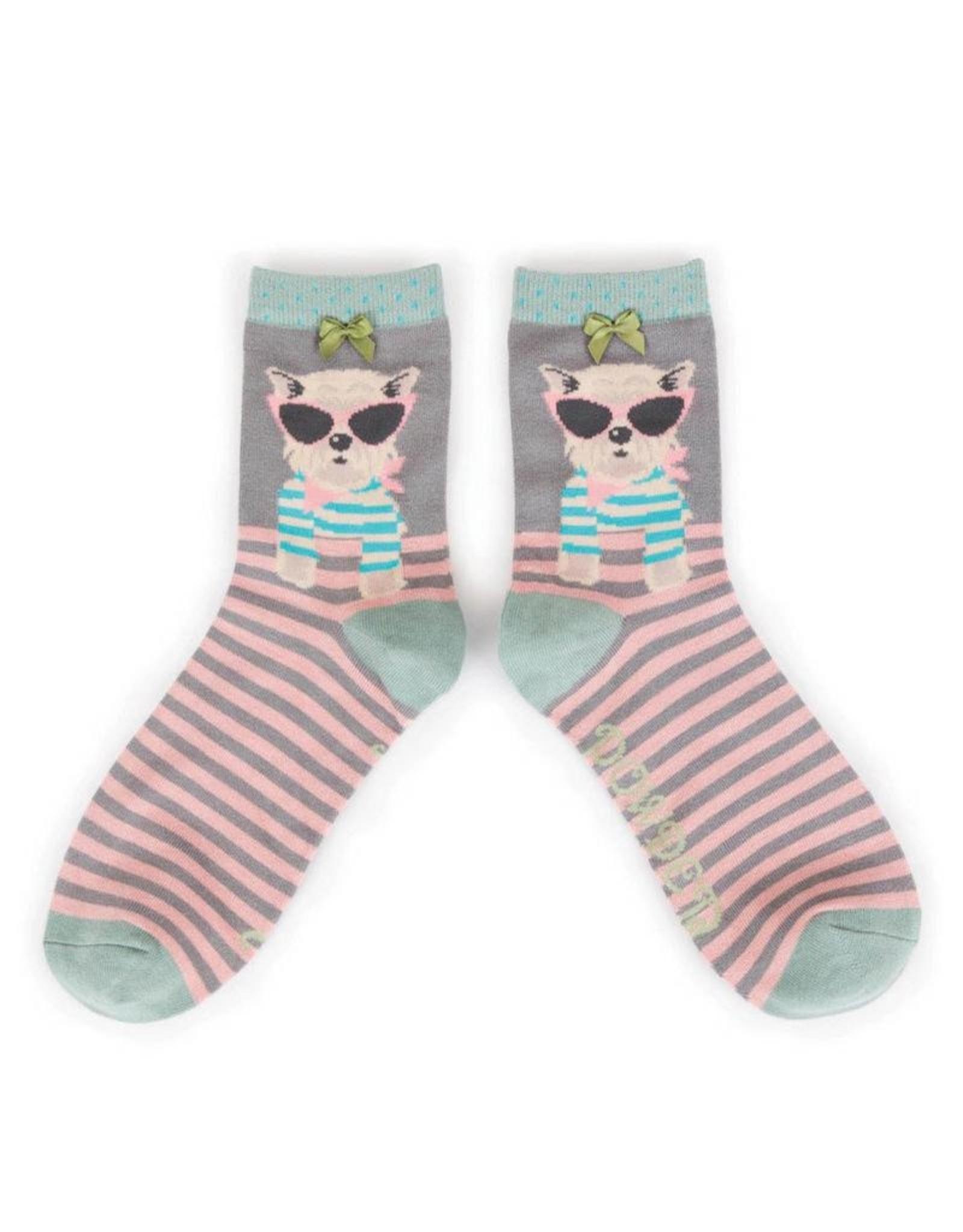 Powder Bamboo Socks