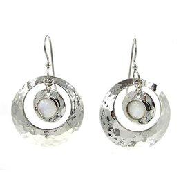 Silver Forest Earring