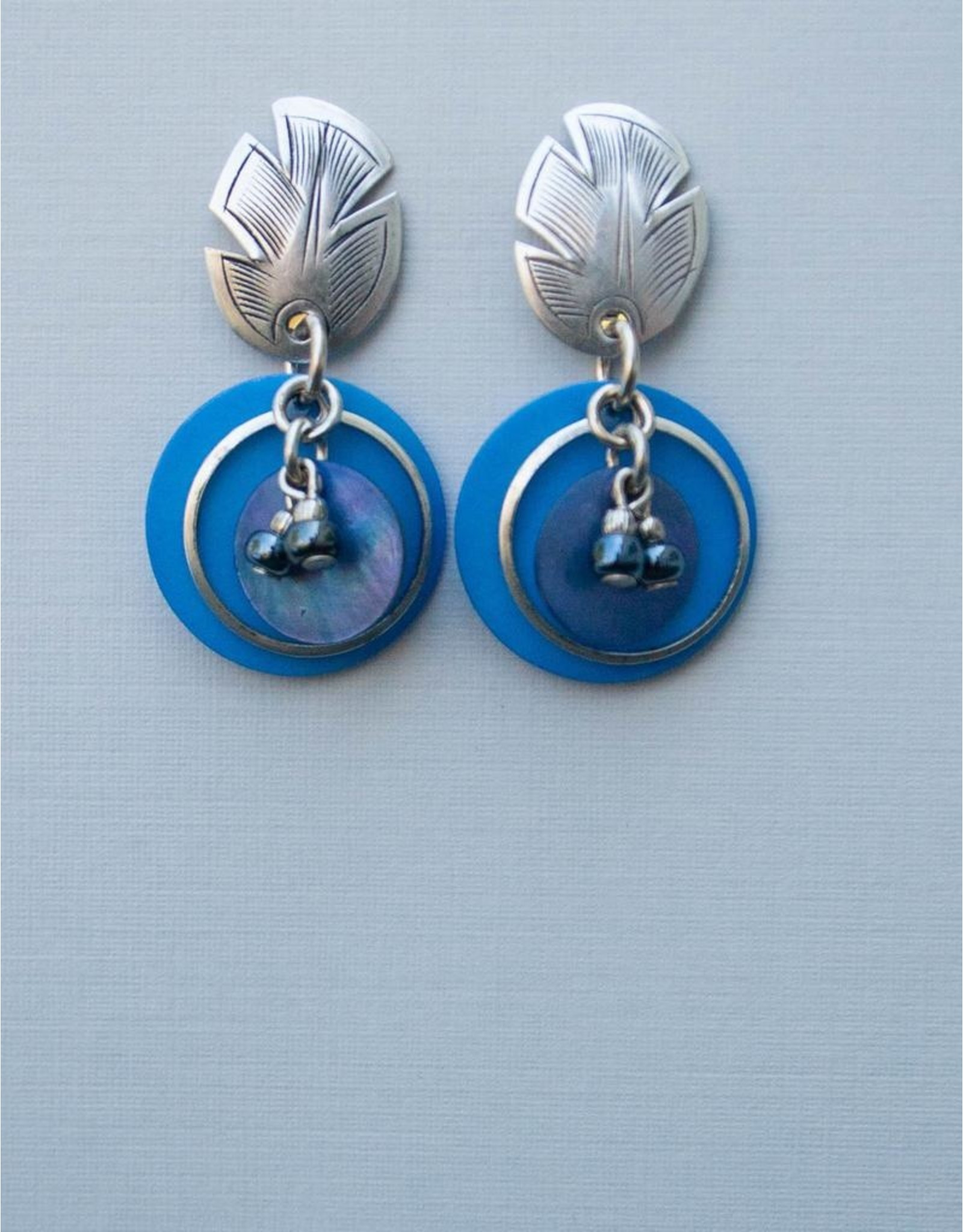 John Michael Richardson Clip Earrings